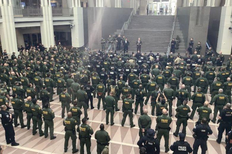 Despliega CBP agentes en Washington por protestas