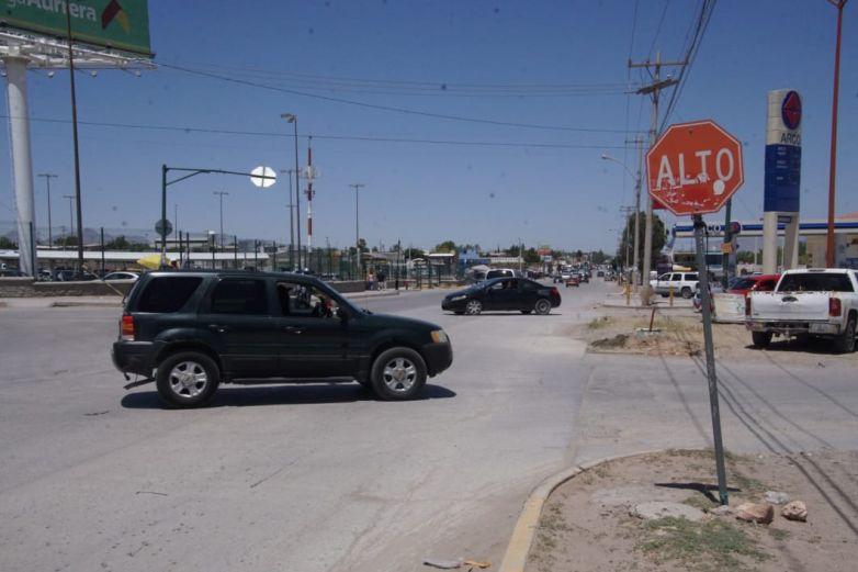 Instalarán semáforos en cruce de Puerto de Palos y Puerto Dunquerque