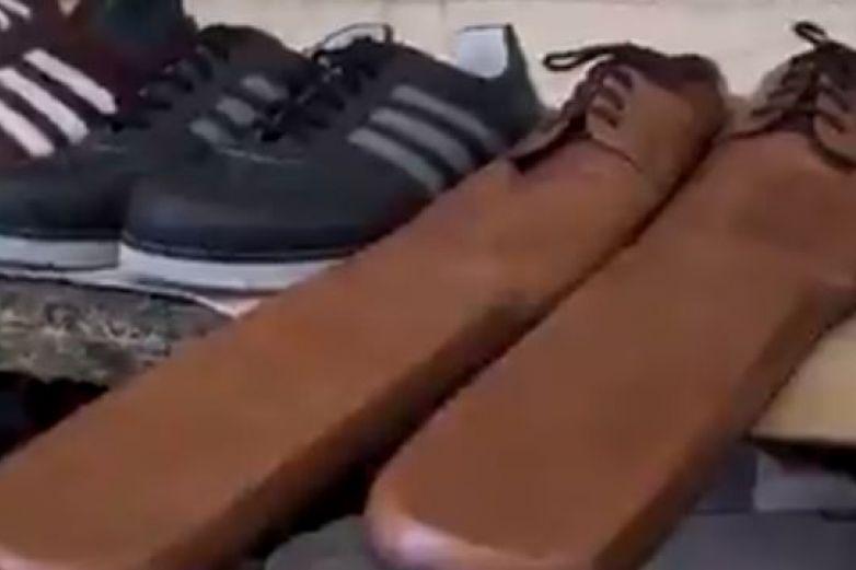 Crean los zapatos de 'Susana Distancia' para evitar contagios
