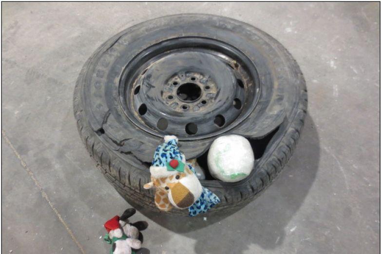 Cae menor con cocaína en puente Zaragoza