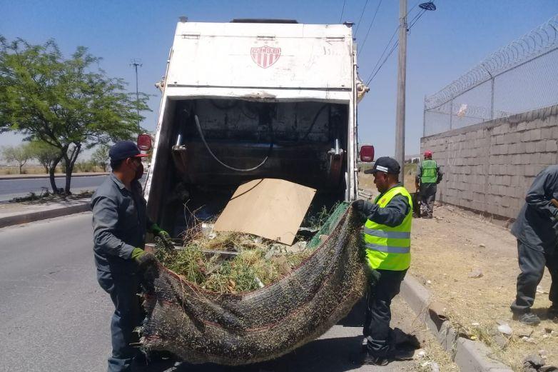 Retiran 500 toneladas de desechos de las calles