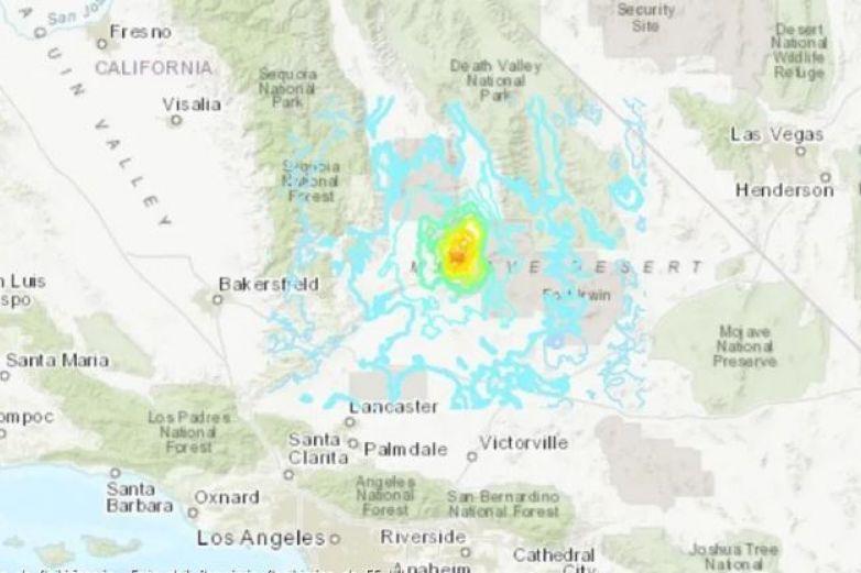 Sismo de 5.5 sacude a California