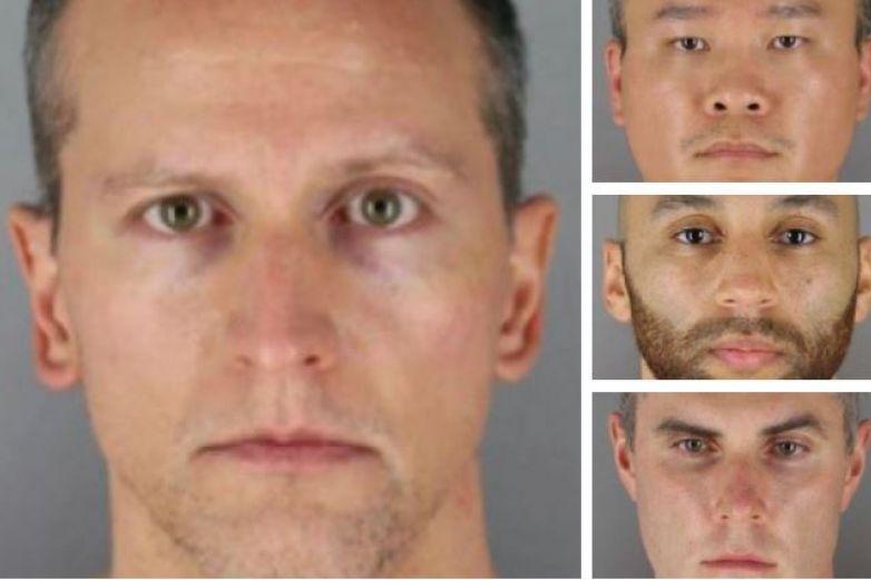 Ellos son los 4 expolicías acusados de la muerte de Floyd