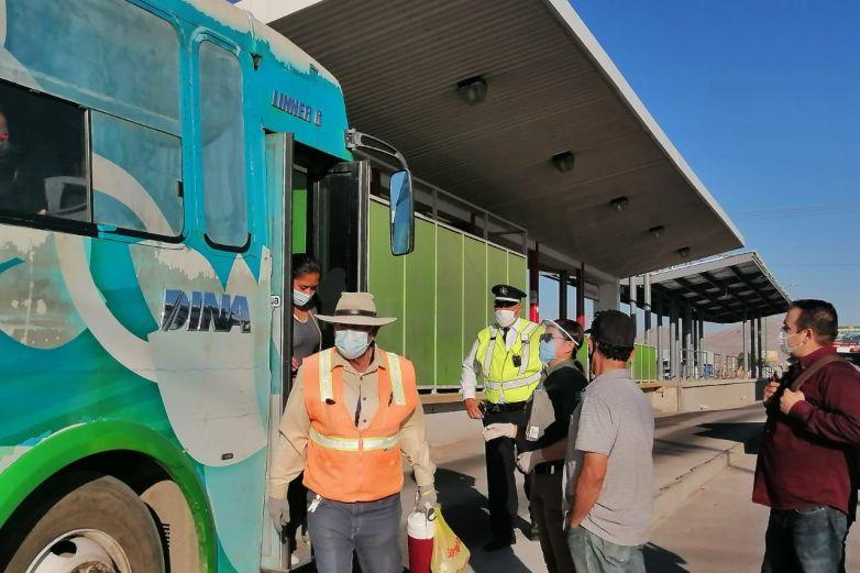 Supervisan sobrecupo en unidades de Ecobús