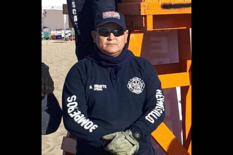 Fallece bombero por Covid-19 en Hermosillo