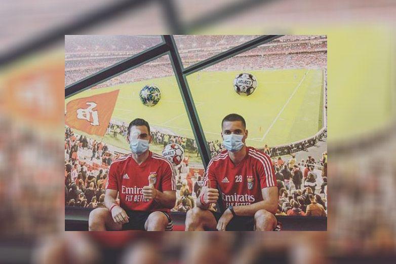 Dos jugadores del Benfica resultan heridos tras ataque a su autobús