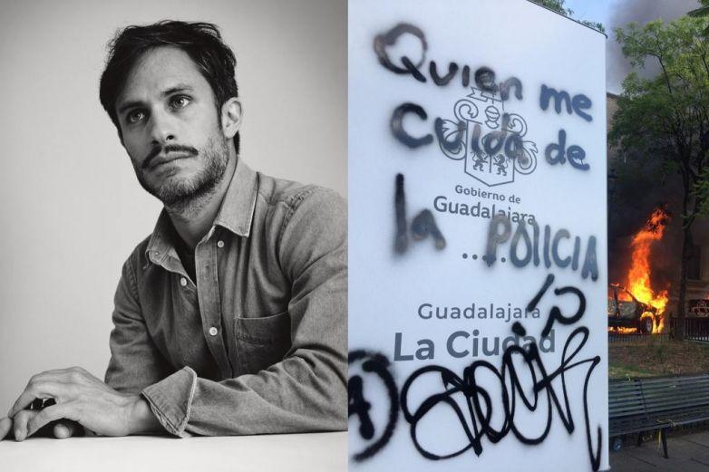 Gael García exige justicia para Giovanni y le llueven críticas
