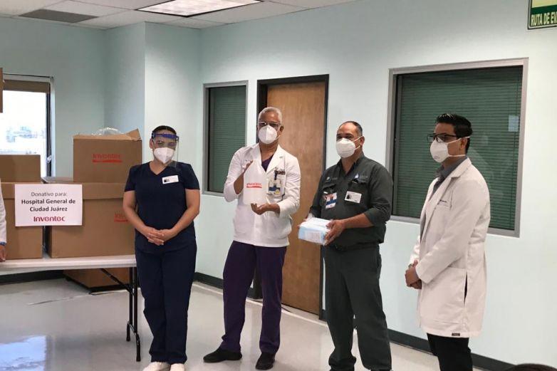 Empresa taiwanesa entrega insumos al sector salud
