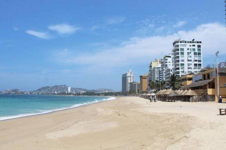 Por los suelos ocupación de hoteles en Acapulco tras reapertura