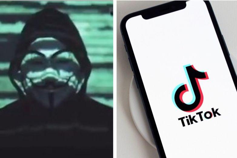 Anonymous pide a internautas desinstalar la app TikTok