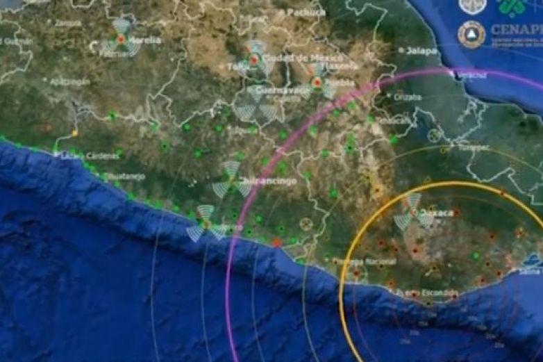 Siguen las réplicas tras sismo en Huatulco; van casi 6 mil
