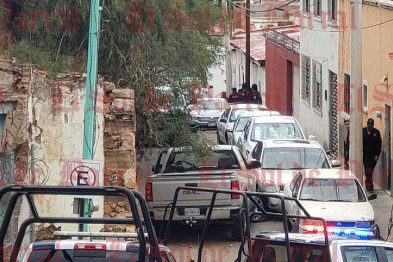 Se registra persecución y balacera en Parral