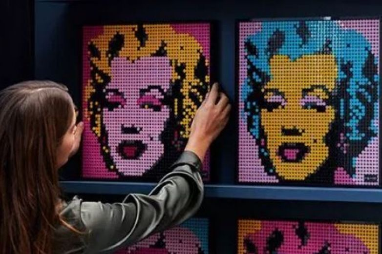LEGO lanza línea de decoración de Andy Warhol, Star Wars y The Beatles