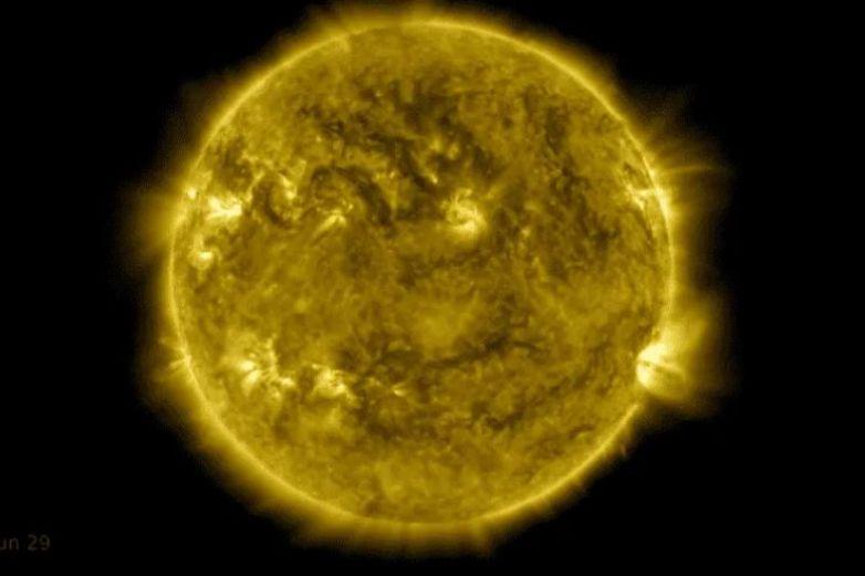 NASA presenta 10 años de evolución del Sol en este impresionante video