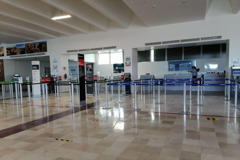 Ruta aérea a CDMX la única activa durante pandemia en Juárez