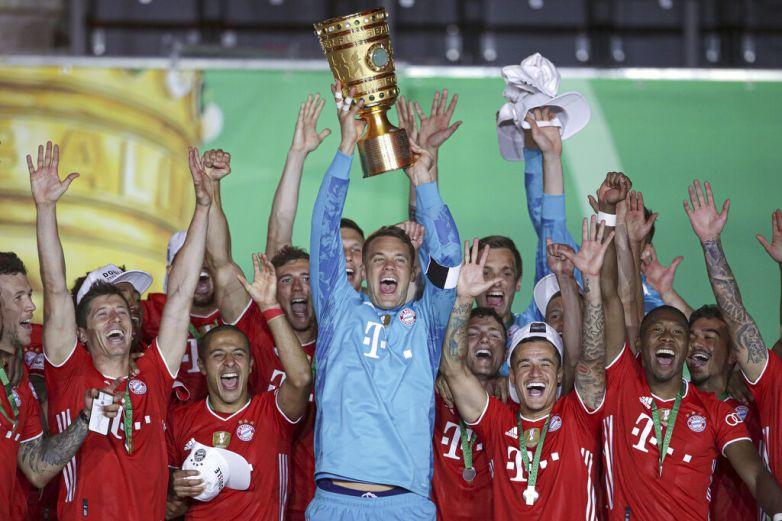 Bayern gana Copa de Alemania y completa el doblete