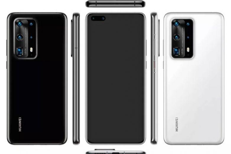 Así sería el nuevo Huawei P40 Pro, según una filtración