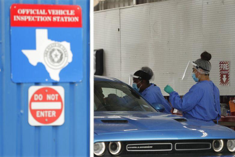 Supera Texas los 10 milcasos nuevos de coronavirus en un día