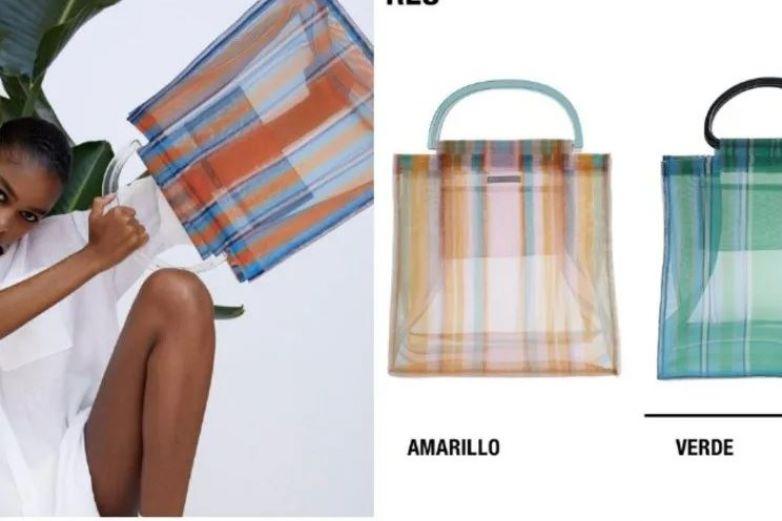 Zara lanza bolsa estilo shopper de 649 pesos
