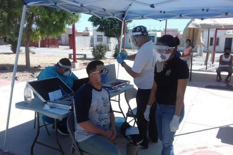 Brindan atención médica en centros comunitarios