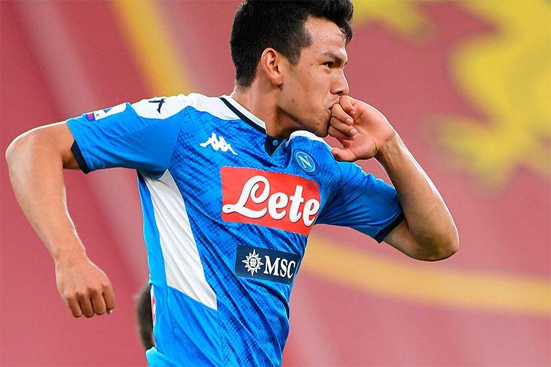 Con gol de 'Chucky' Lozano, Napoli vence a Genoa