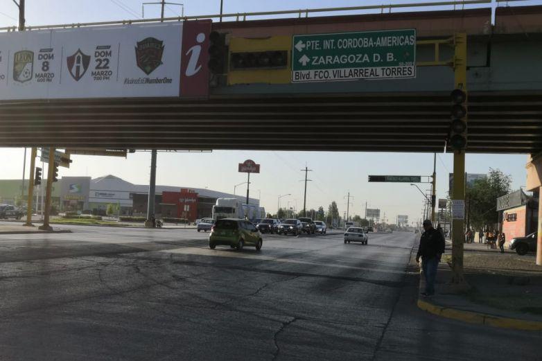 Fallan semáforos en Gómez Morín y Villarreal Torres