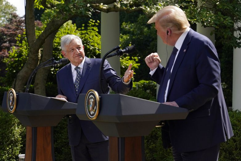 Trump evita los insultos y dice que México es amigo querido