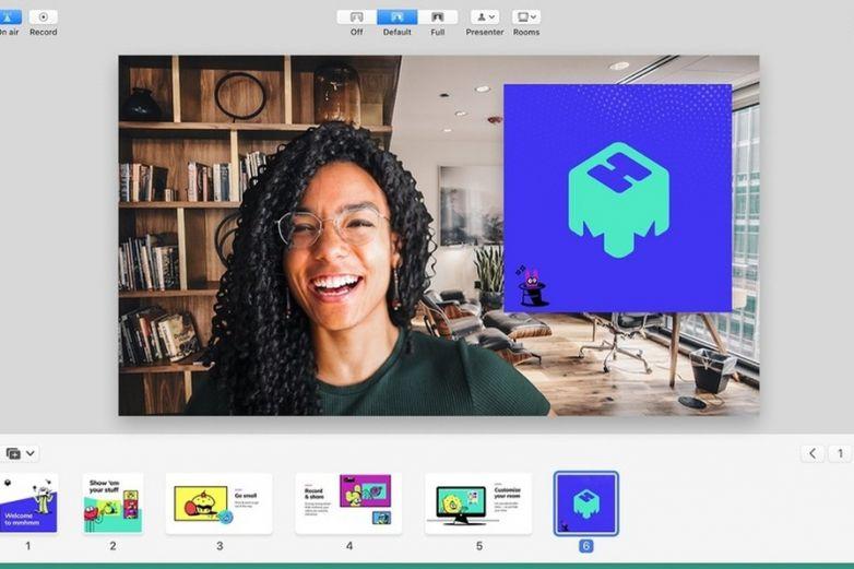 Mmhmm, la nueva app para realizar videollamadas interactivas