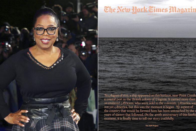 Oprah y Lionsgate ayudan a llevar Proyecto 1619 a la pantalla