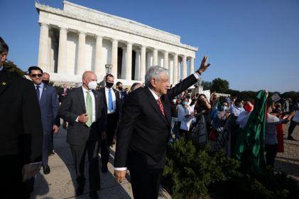 Trump recibe a AMLO en la Casa Blanca