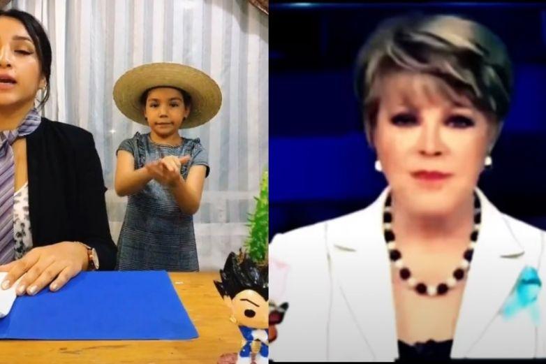 Madre e hija parodian video de Lolita Ayala 'poseída'