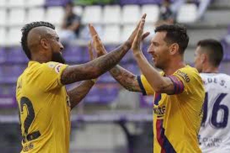 Barsa vence 1-0 a Valladolid