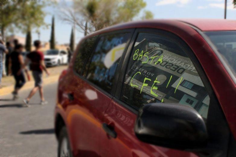 ¡Basta CFE! Toman las calles en protesta por apagones