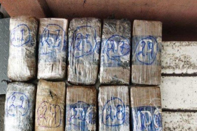 Decomisan cocaína colombiana en Michoacán