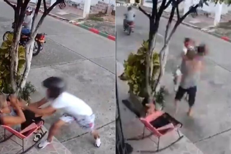 Intentan robar celular a mujer y se defiende