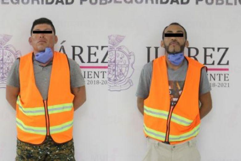 Arrestan a dos hombres por el delito de violencia familiar