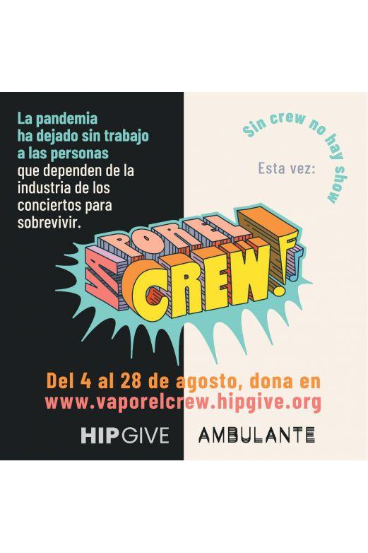 Artistas organizan donaciones para trabajadores de la industria