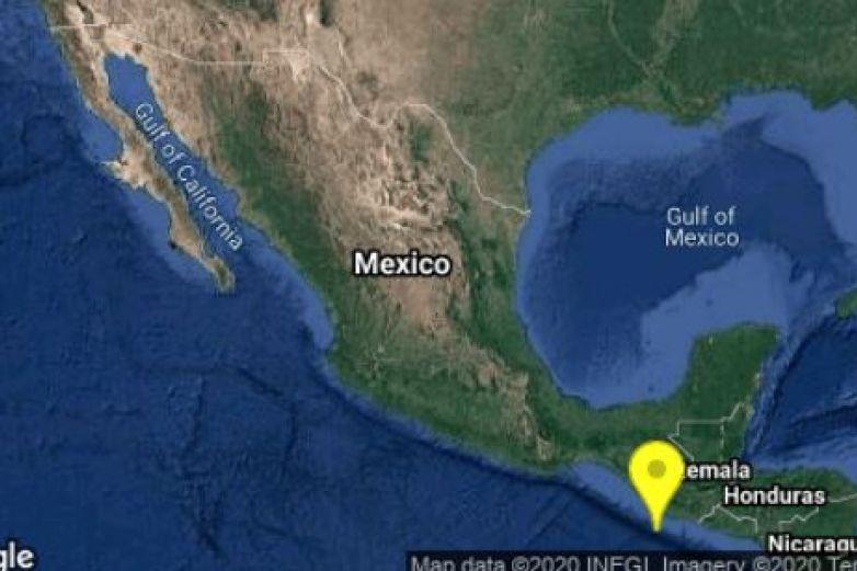 Sismo sacude Chiapas