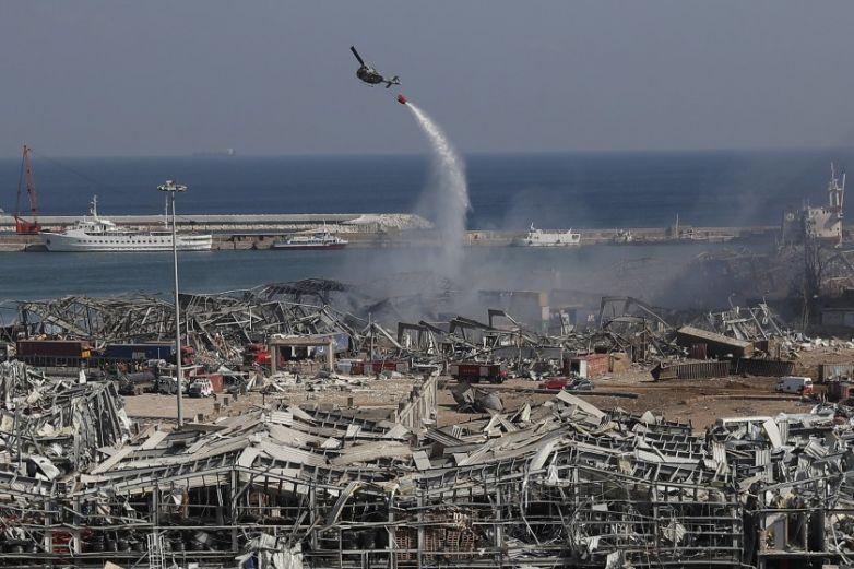 Medios de Líbano reportan 16 detenidos por explosión en puerto de Beirut