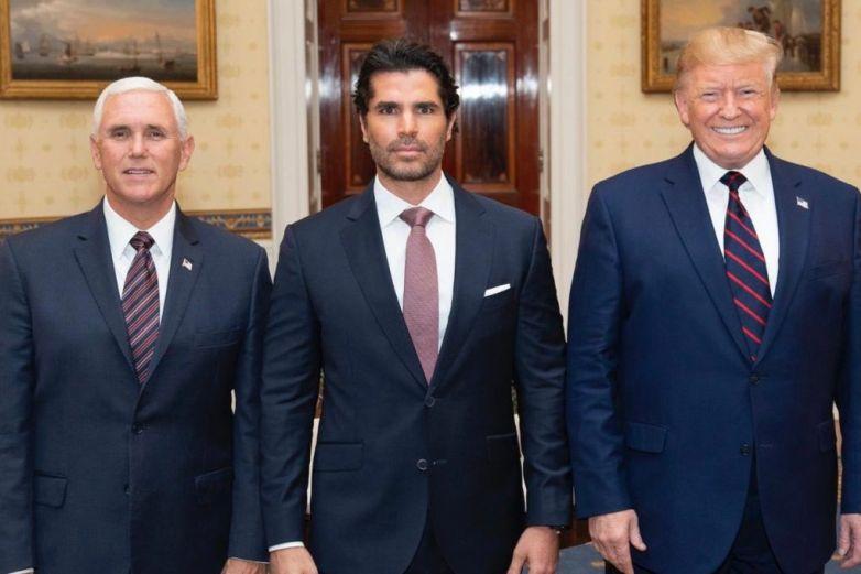 Señalan a Eduardo Verástegui por respaldar a Donald Trump