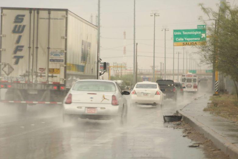 Comienza a llover en algunos sectores de la ciudad