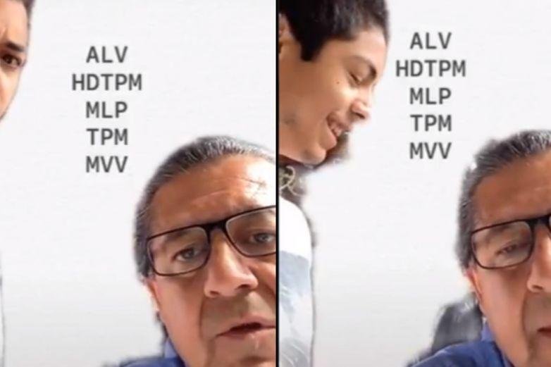 'ALV : Al rato lo vemos', papá intenta adivinar los significados de acrónimos