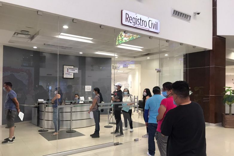 Digitalizan trámites en el Registro Civil