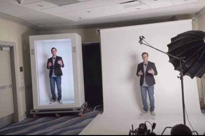 ¡Adiós videollamadas! Crean máquina de hologramas para comunicarse