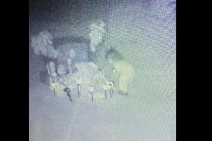 Captan a niña fantasma en panteón de Las Cruces
