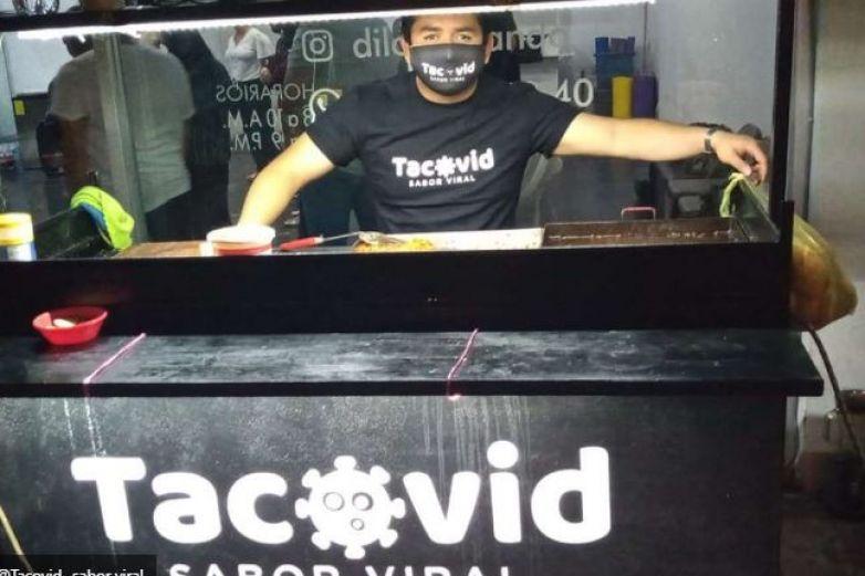Emprendedores lanzan 'Tacovid'