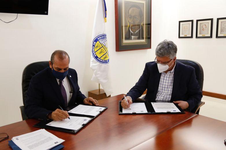 Firman UACJ y Seguridad estatal acuerdo para centro comunitario al suroriente