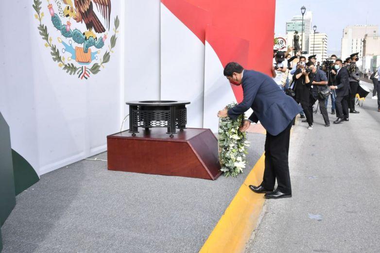Realiza gobernador ceremonia por el 210 Aniversario de Independencia