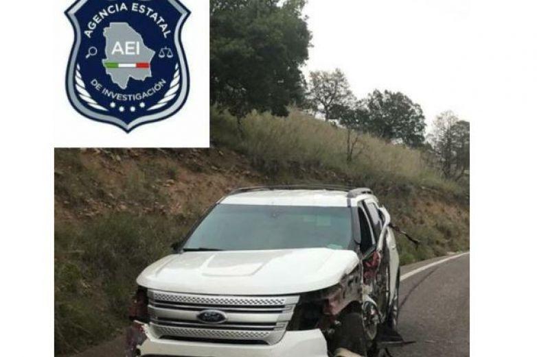 Encuentran en Tomochi camioneta con reporte de robo en Juárez