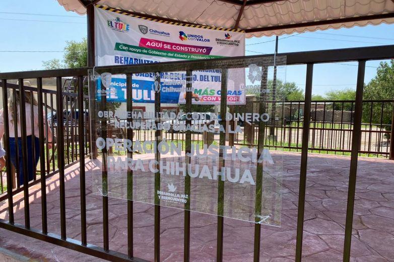 Estrenan y arrancan obras con dinero recuperado de los desvíos de Duarte